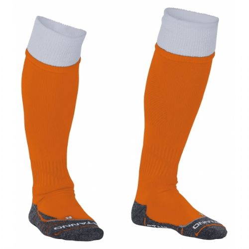 Reece Combi Socks Orange/White Unisex Senior